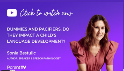 Our Founder, Sonia Bestulic joins the ParentTV expert team!